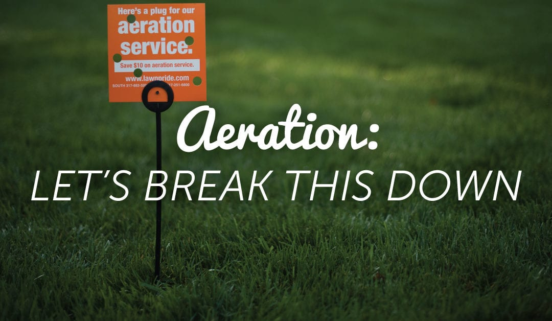Aeration: Why It's A Must-Do For Your Lawn			No ratings yet.