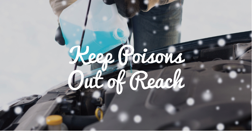Keep Poisons out of Reach