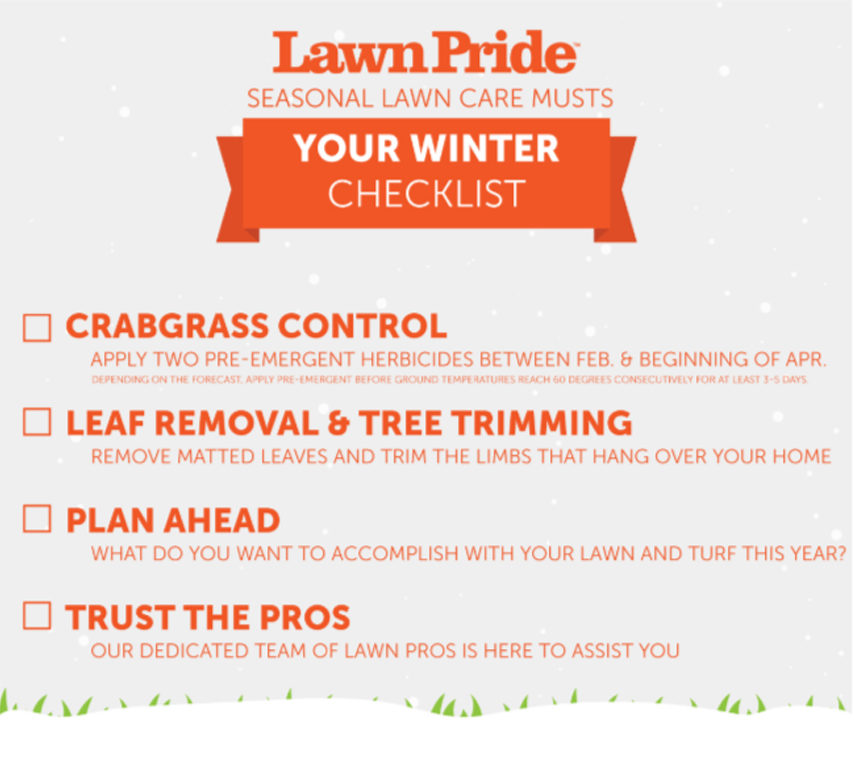 Winter Lawncare Checklist