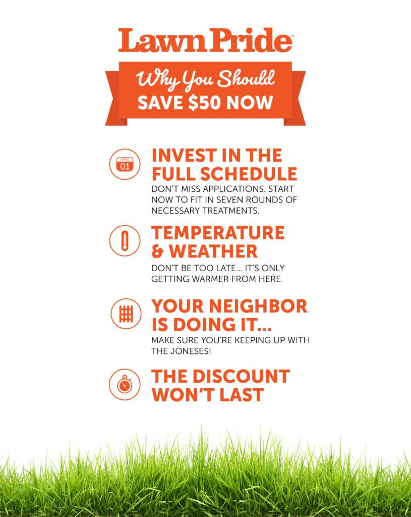 , Lawn Lovers: Save $50 NOW On Our Signature 7-Application Program, Lawn Pride
