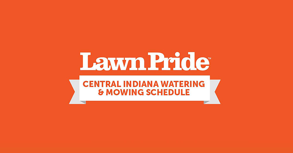 Lawn Pride's Watering & Mowing Schedule
